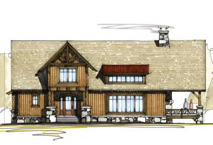 3 Bed, 2 Bath, 2370 Square Foot House Plan - #8504-00095