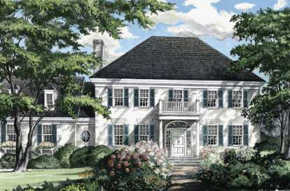 3 Bed, 2 Bath, 2357 Square Foot House Plan - #7922-00151