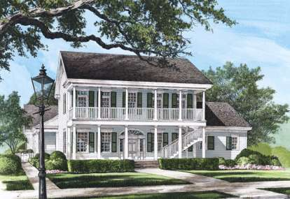 4 Bed, 4 Bath, 3020 Square Foot House Plan - #7922-00178