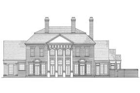 Traditional House Plan #7922-00181 Elevation Photo