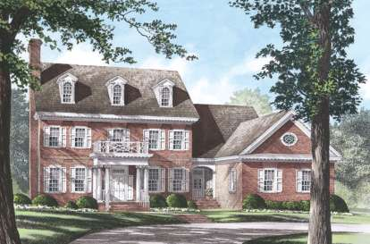 4 Bed, 4 Bath, 3371 Square Foot House Plan #7922-00184