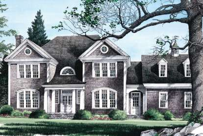5 Bed, 3 Bath, 3783 Square Foot House Plan - #7922-00185