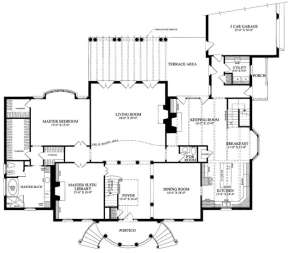 Floorplan 1 for House Plan #7922-00188