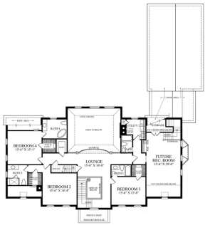 Floorplan 2 for House Plan #7922-00188