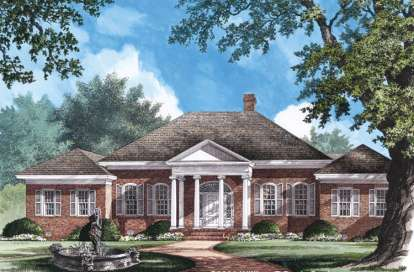 4 Bed, 3 Bath, 3600 Square Foot House Plan - #7922-00190