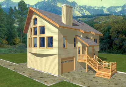 3 Bed, 2 Bath, 2130 Square Foot House Plan - #039-00237