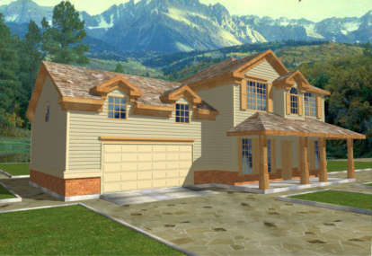 3 Bed, 2 Bath, 1694 Square Foot House Plan - #039-00238