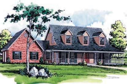 3 Bed, 2 Bath, 2305 Square Foot House Plan - #9035-00078