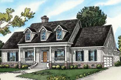 4 Bed, 3 Bath, 2680 Square Foot House Plan - #9035-00097