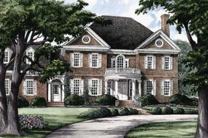 5 Bed, 3 Bath, 3951 Square Foot House Plan - #7922-00216