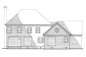 Traditional House Plan #7922-00216 Elevation Photo