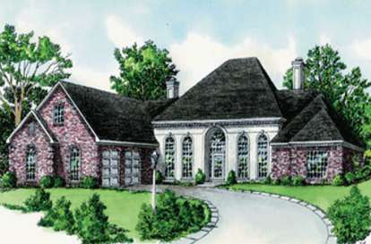 4 Bed, 3 Bath, 2780 Square Foot House Plan - #9035-00104