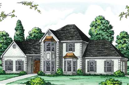 4 Bed, 3 Bath, 2951 Square Foot House Plan - #9035-00114