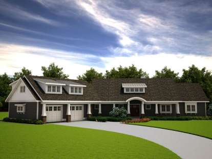 3 Bed, 2 Bath, 2085 Square Foot House Plan #7806-00009