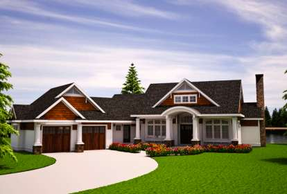 1 Bed, 1 Bath, 1694 Square Foot House Plan #7806-00010