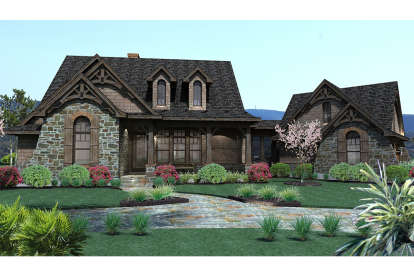 3 Bed, 2 Bath, 1698 Square Foot House Plan #9401-00004