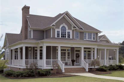 3 Bed, 2 Bath, 2112 Square Foot House Plan #9401-00008