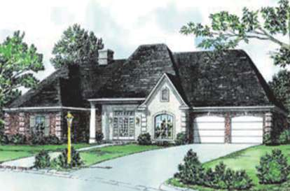 4 Bed, 2 Bath, 1987 Square Foot House Plan - #9035-00223