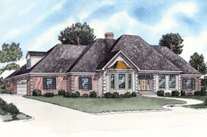 4 Bed, 2 Bath, 1977 Square Foot House Plan - #9035-00227