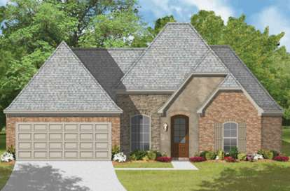 4 Bed, 2 Bath, 1909 Square Foot House Plan - #9035-00230