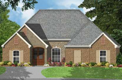 4 Bed, 3 Bath, 1961 Square Foot House Plan - #9035-00255