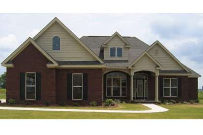 5 Bed, 2 Bath, 1965 Square Foot House Plan - #1070-00021