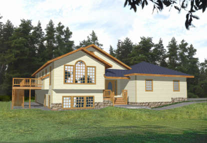 3 Bed, 2 Bath, 2682 Square Foot House Plan - #039-00259