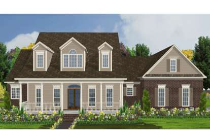 5 Bed, 3 Bath, 2890 Square Foot House Plan - #1070-00053