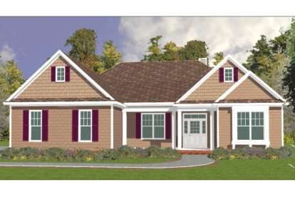 4 Bed, 2 Bath, 2763 Square Foot House Plan - #1070-00054