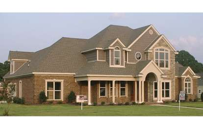 5 Bed, 3 Bath, 3127 Square Foot House Plan #1070-00059