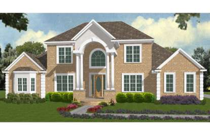 5 Bed, 4 Bath, 4052 Square Foot House Plan - #1070-00061