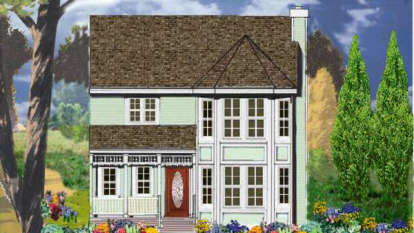 3 Bed, 2 Bath, 1558 Square Foot House Plan - #033-00012