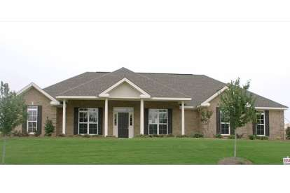 4 Bed, 3 Bath, 2465 Square Foot House Plan - #1070-00078