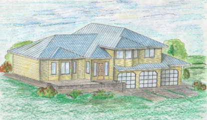 4 Bed, 2 Bath, 3127 Square Foot House Plan - #039-00265