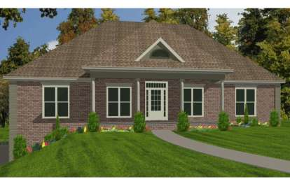 5 Bed, 3 Bath, 2905 Square Foot House Plan - #1070-00105