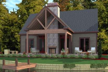 3 Bed, 2 Bath, 1711 Square Foot House Plan #1070-00130