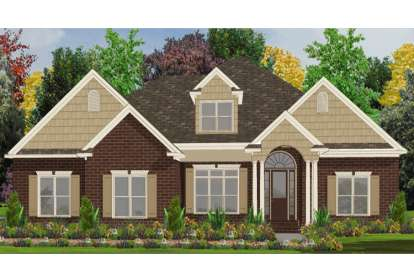 5 Bed, 3 Bath, 3934 Square Foot House Plan - #1070-00131