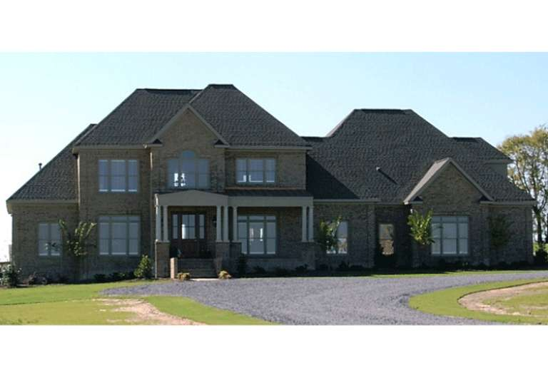 French Country House Plan #1070-00132 Elevation Photo