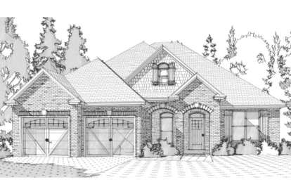4 Bed, 2 Bath, 2099 Square Foot House Plan - #1070-00136