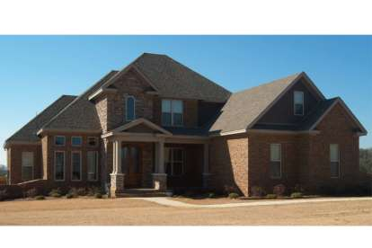 5 Bed, 4 Bath, 3346 Square Foot House Plan - #1070-00138