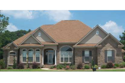 4 Bed, 3 Bath, 2577 Square Foot House Plan #1070-00143