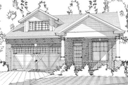 3 Bed, 2 Bath, 1890 Square Foot House Plan - #1070-00150