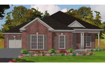 4 Bed, 2 Bath, 2025 Square Foot House Plan - #1070-00152