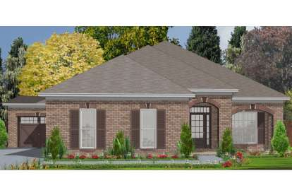 4 Bed, 2 Bath, 2025 Square Foot House Plan - #1070-00153
