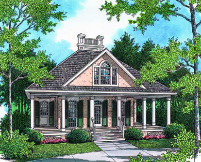 2 Bed, 2 Bath, 1274 Square Foot House Plan - #048-00035