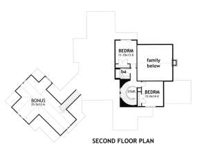 Second Floor for House Plan #9401-00018