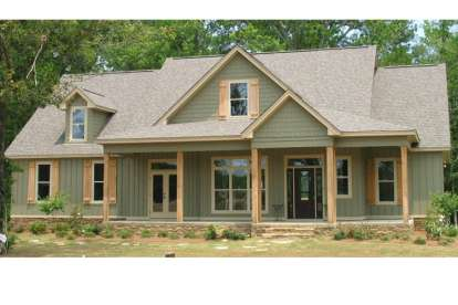 4 Bed, 3 Bath, 2565 Square Foot House Plan #1070-00211