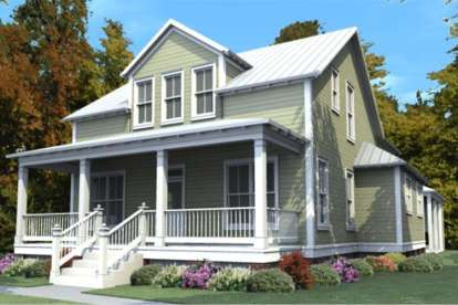 4 Bed, 3 Bath, 2713 Square Foot House Plan #1070-00247