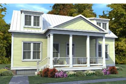 3 Bed, 2 Bath, 1686 Square Foot House Plan #1070-00253
