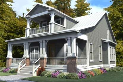 3 Bed, 3 Bath, 2296 Square Foot House Plan #1070-00254